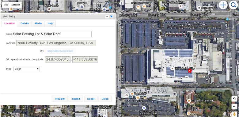 CBS Studios Solar Parking and Solar Roof